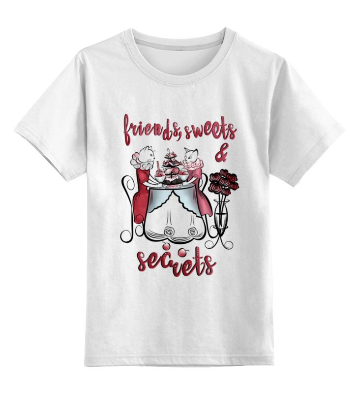 Printio Детская футболка классическая унисекс Праздничные кошки