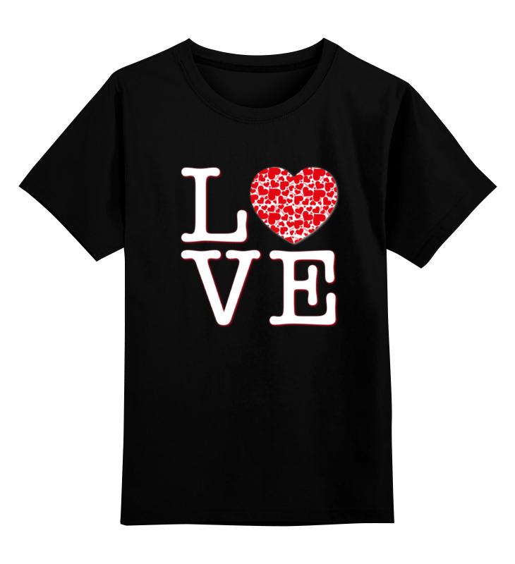 printio детская футболка классическая унисекс hadgehog Printio Детская футболка классическая унисекс Футболка любовь