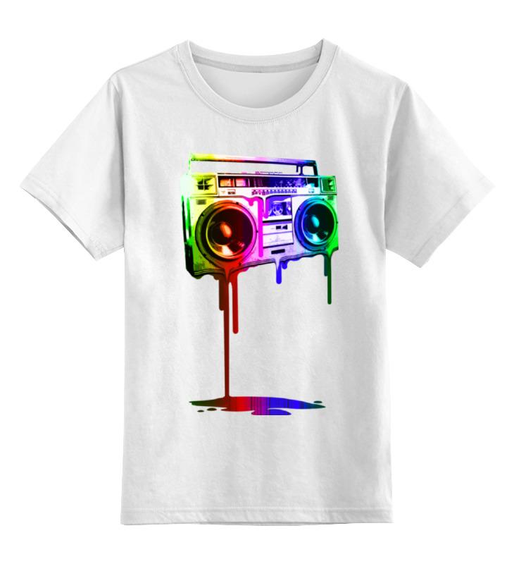 Printio Детская футболка классическая унисекс Магнитофон