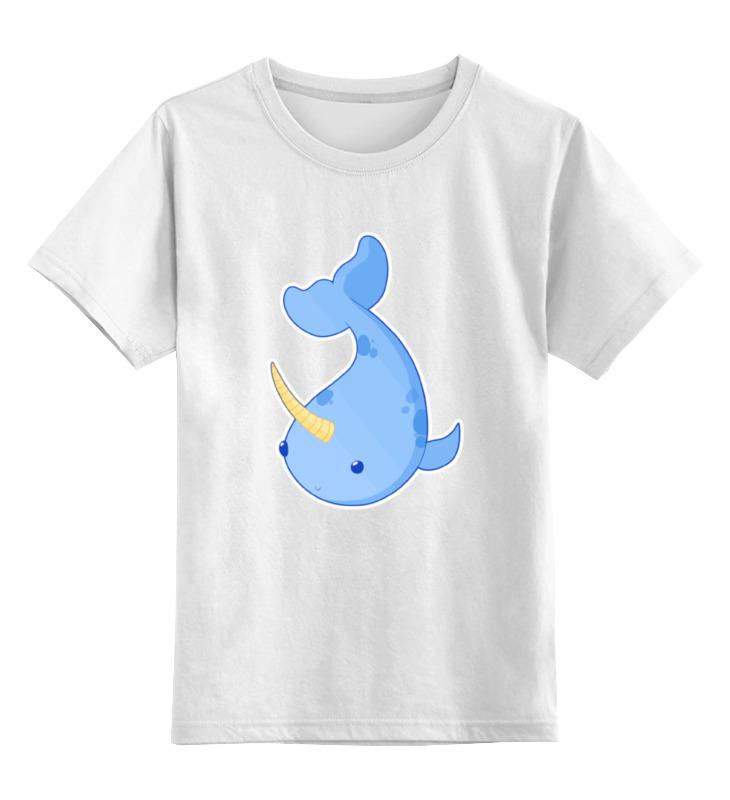 Printio Детская футболка классическая унисекс Милый нарвал