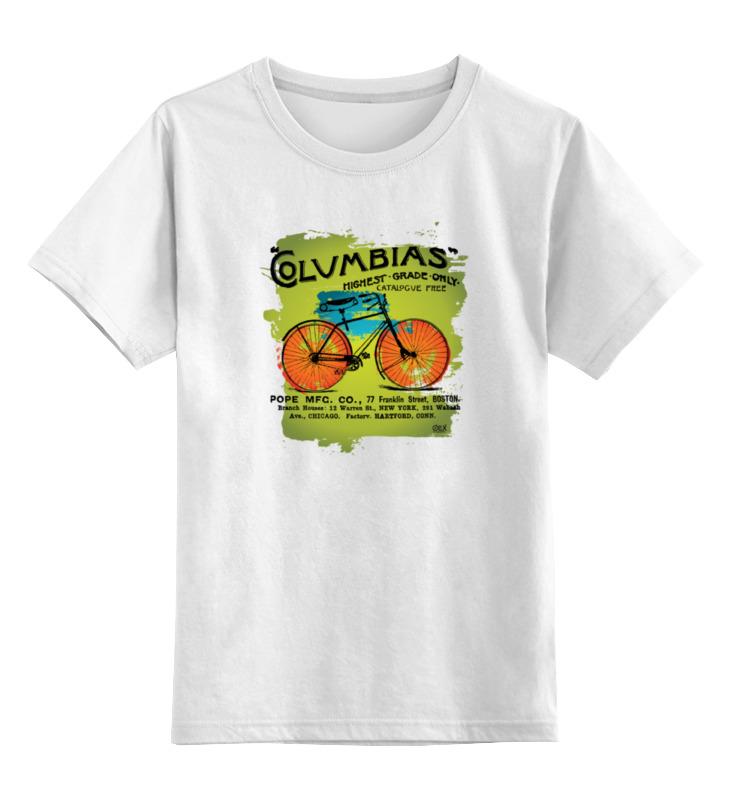 Фото - Printio Детская футболка классическая унисекс Винтажный велосипед printio футболка классическая велосипед