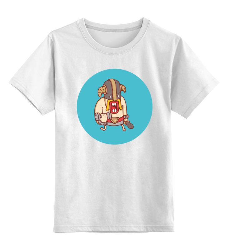 Printio Детская футболка классическая унисекс Варвар (clash of clans)