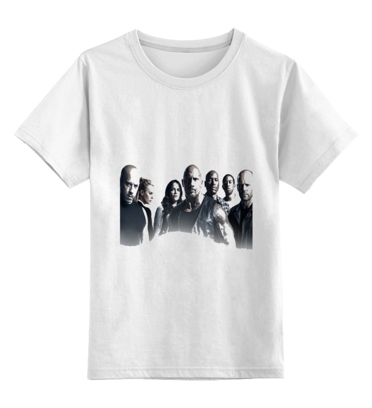 Printio Детская футболка классическая унисекс Форсаж 8