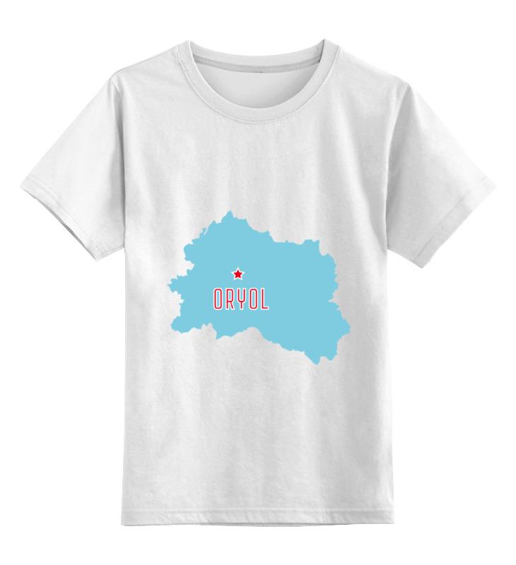 Printio Детская футболка классическая унисекс Орловская область. орел