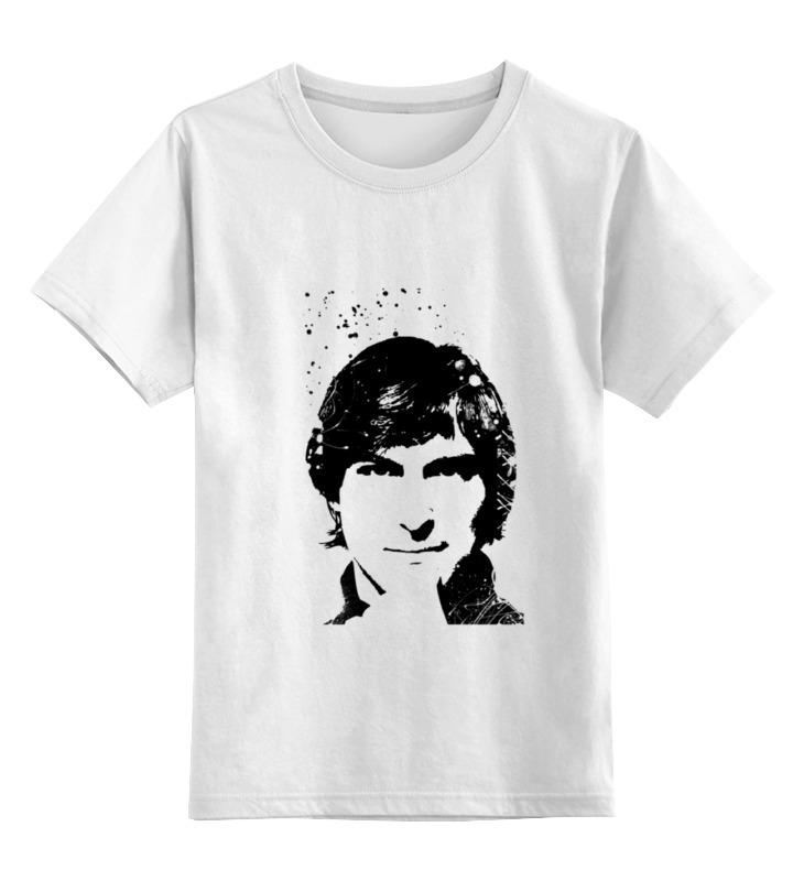 Printio Детская футболка классическая унисекс Стив джобс printio толстовка wearcraft premium унисекс стив джобс
