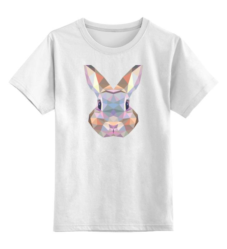 Фото - Printio Детская футболка классическая унисекс Полигональный кролик printio детская футболка классическая унисекс полигональный кабан