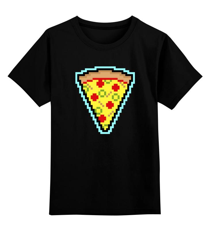 printio детская футболка классическая унисекс покемоны 8 бит драконы Printio Детская футболка классическая унисекс Пицца (8-бит)