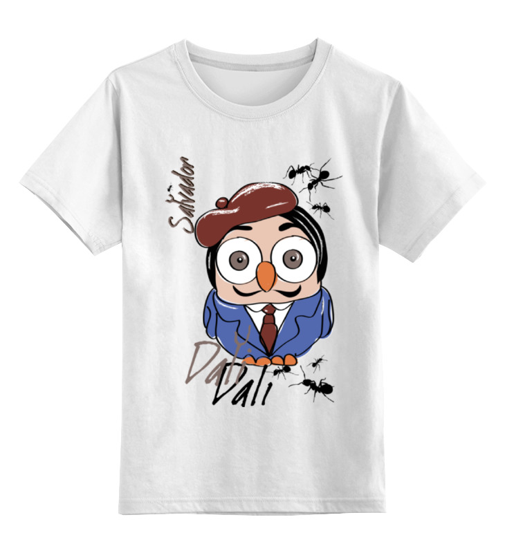 Printio Детская футболка классическая унисекс Сова сальвадор дали суперсова goofi printio сумка сова сальвадор дали суперсова goofi