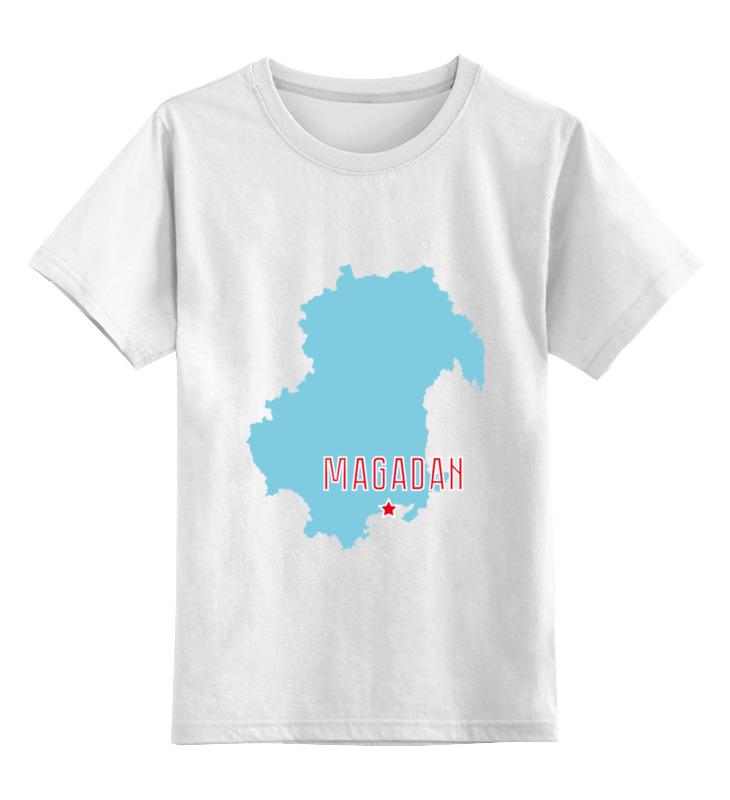 Printio Детская футболка классическая унисекс Магаданская область. магадан