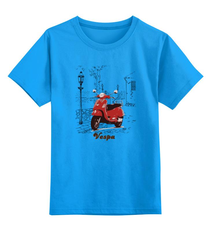 Printio Детская футболка классическая унисекс Vespa. веспа