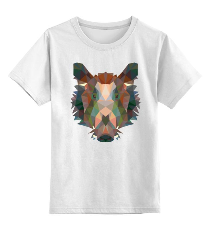 Фото - Printio Детская футболка классическая унисекс Полигональный кабан printio детская футболка классическая унисекс полигональный кабан