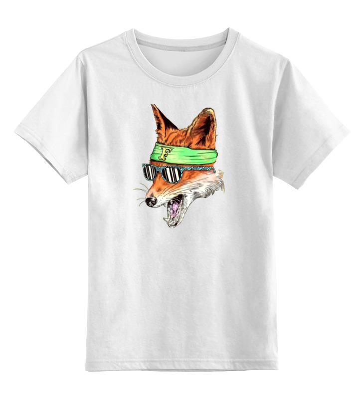 Фото - Printio Детская футболка классическая унисекс Лис фанат printio футболка классическая модный лис 1