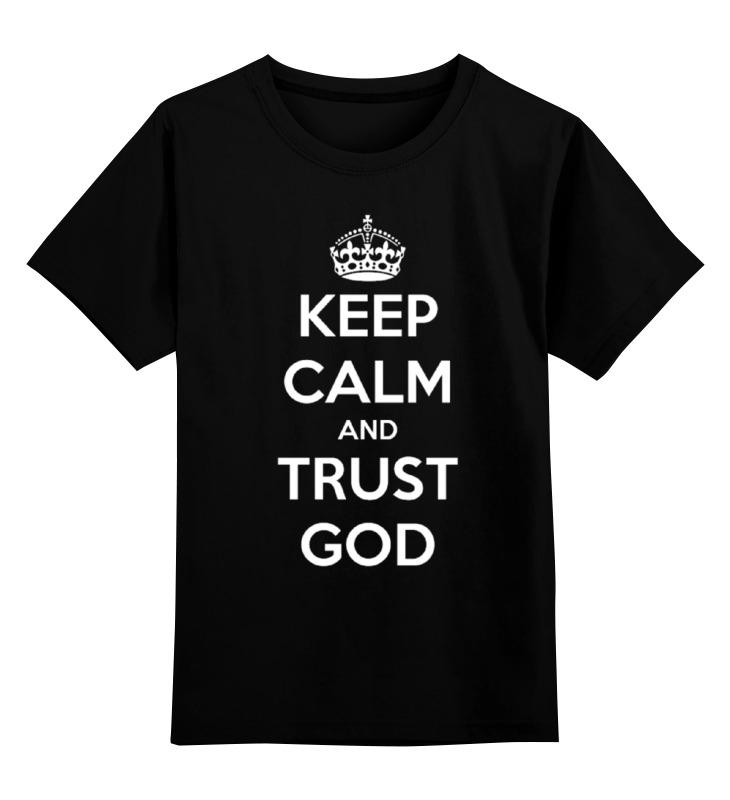 Printio Детская футболка классическая унисекс Keep calm