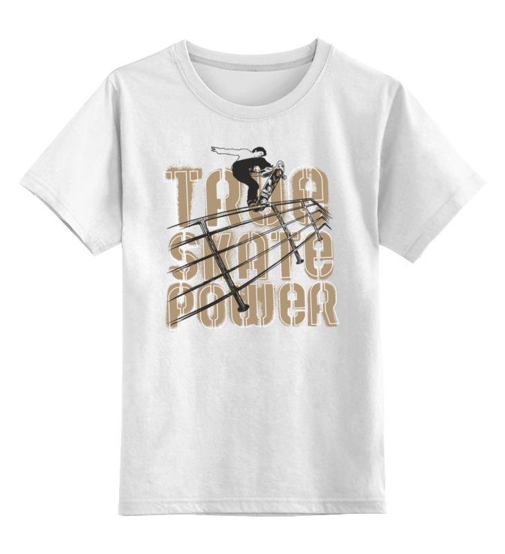 Printio Детская футболка классическая унисекс Скейтборд printio детская футболка классическая унисекс skate riders