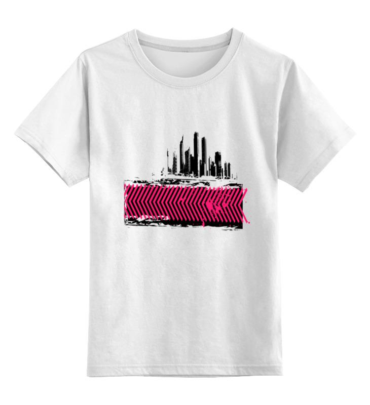 Printio Детская футболка классическая унисекс Москва сити