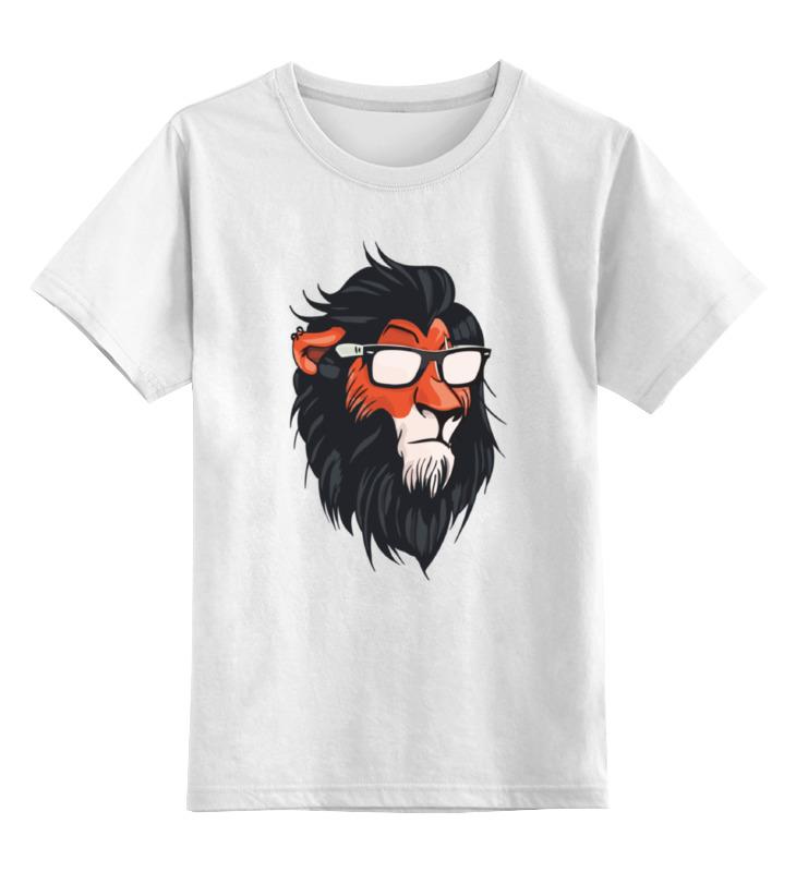 Printio Детская футболка классическая унисекс Шрам (король лев) printio детская футболка классическая унисекс король селфи