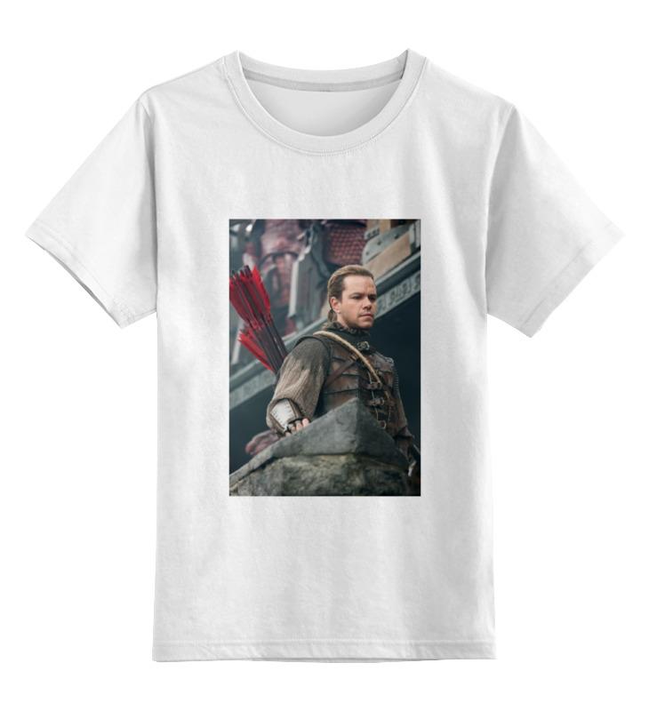 Printio Детская футболка классическая унисекс Великая стена