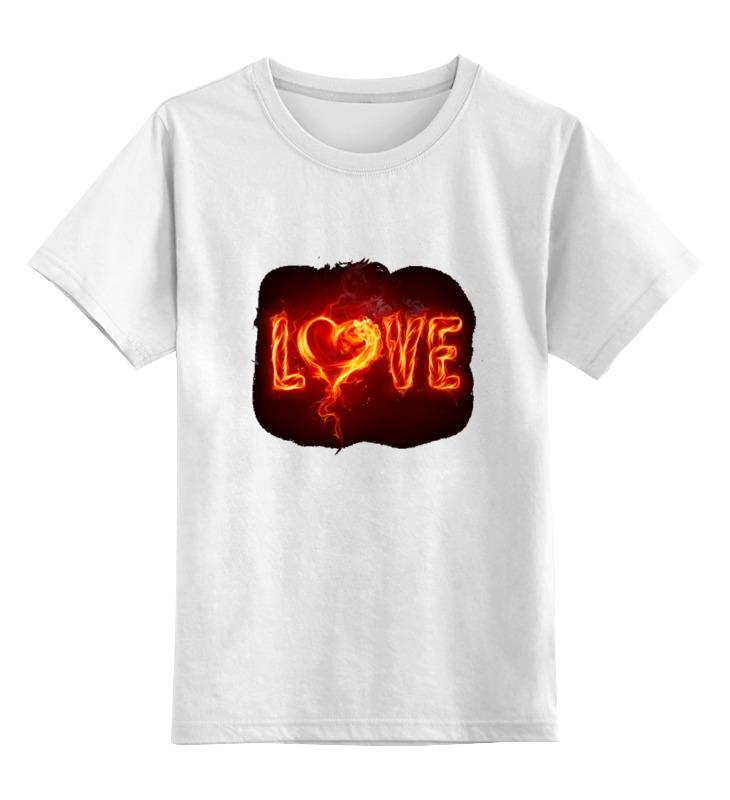 Printio Детская футболка классическая унисекс Любовь