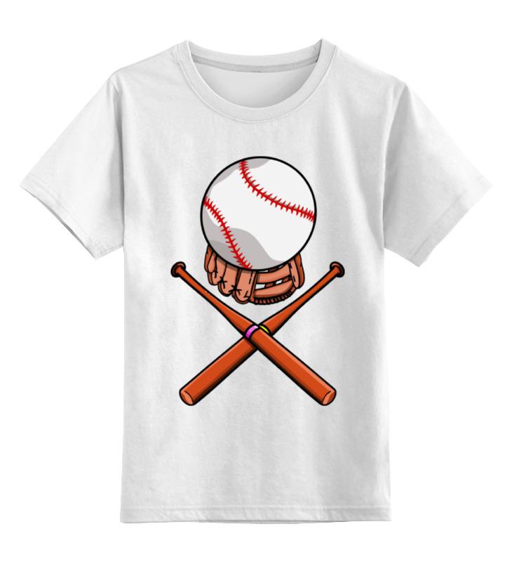Printio Детская футболка классическая унисекс Биты и мяч (бейсбол)