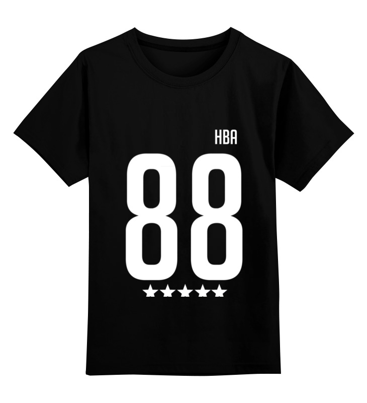 Printio Детская футболка классическая унисекс Hood by air 88 rocky printio толстовка wearcraft premium унисекс hood by air 88 rocky