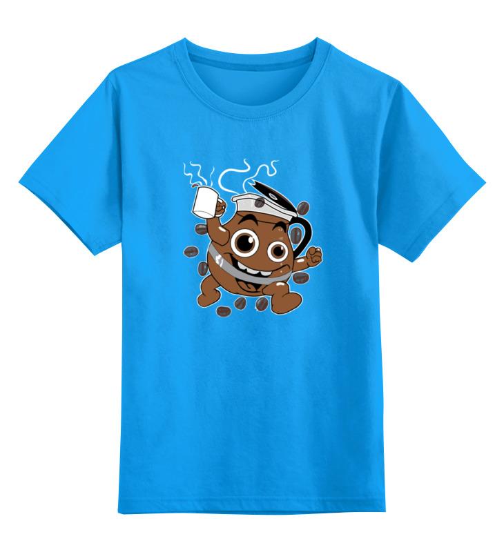детская футболка классическая унисекс printio banana coffee minion Printio Детская футболка классическая унисекс Кофе (coffee)