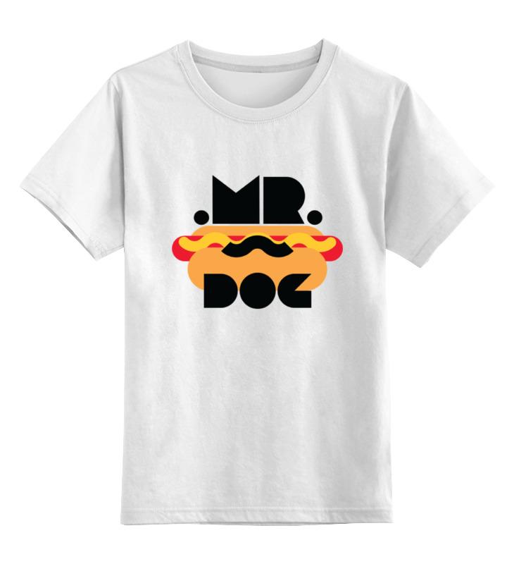 Printio Детская футболка классическая унисекс Мистер хот-дог