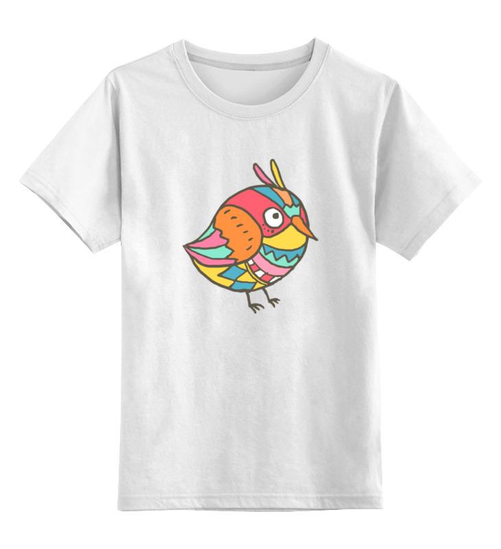 Printio Детская футболка классическая унисекс Этно птичка printio детская футболка классическая унисекс этно лиса