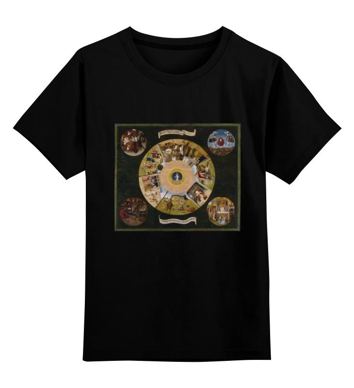Printio Детская футболка классическая унисекс Семь смертных грехов