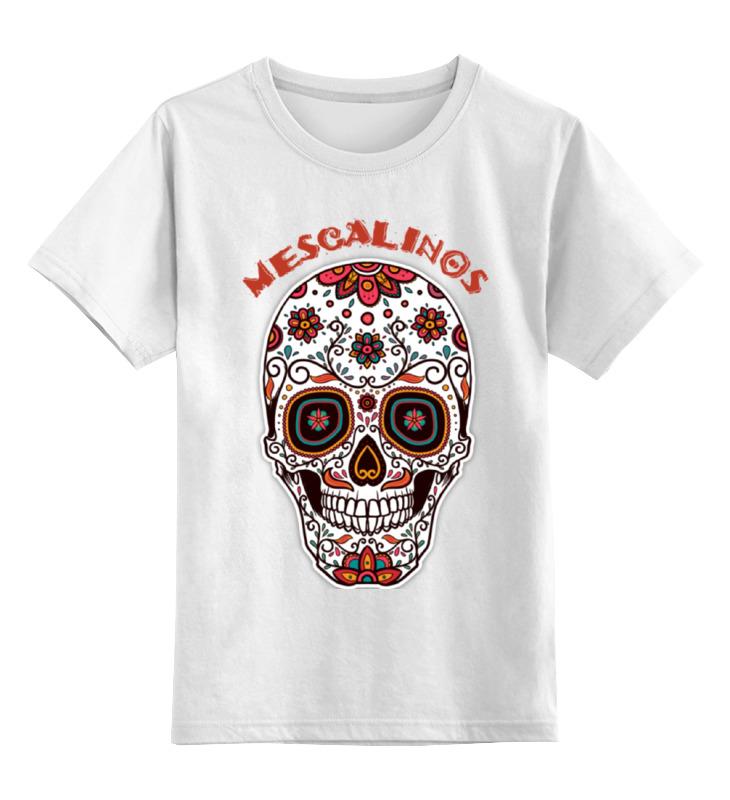 printio череп mescalinos Printio Детская футболка классическая унисекс Череп mescalinos