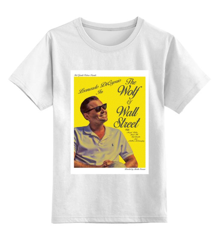 Printio Детская футболка классическая унисекс Волк с уолл-стрит / the wolf of wall street