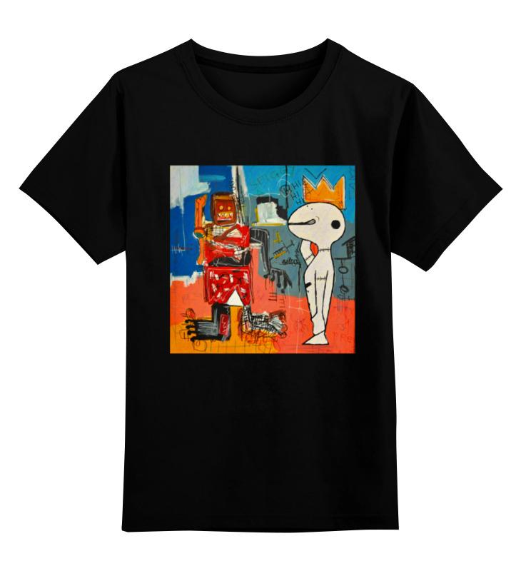 Printio Детская футболка классическая унисекс Basquiat/жан-мишель баския printio леггинсы баския жан мишель
