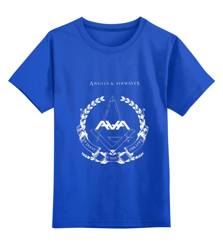Printio Детская футболка классическая унисекс Angels and airwaves freemason printio футболка с полной запечаткой для девочек astronaut angels and airwaves