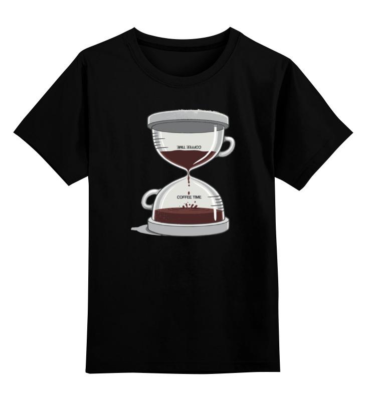 детская футболка классическая унисекс printio banana coffee minion Printio Детская футболка классическая унисекс Coffee time / время кофе