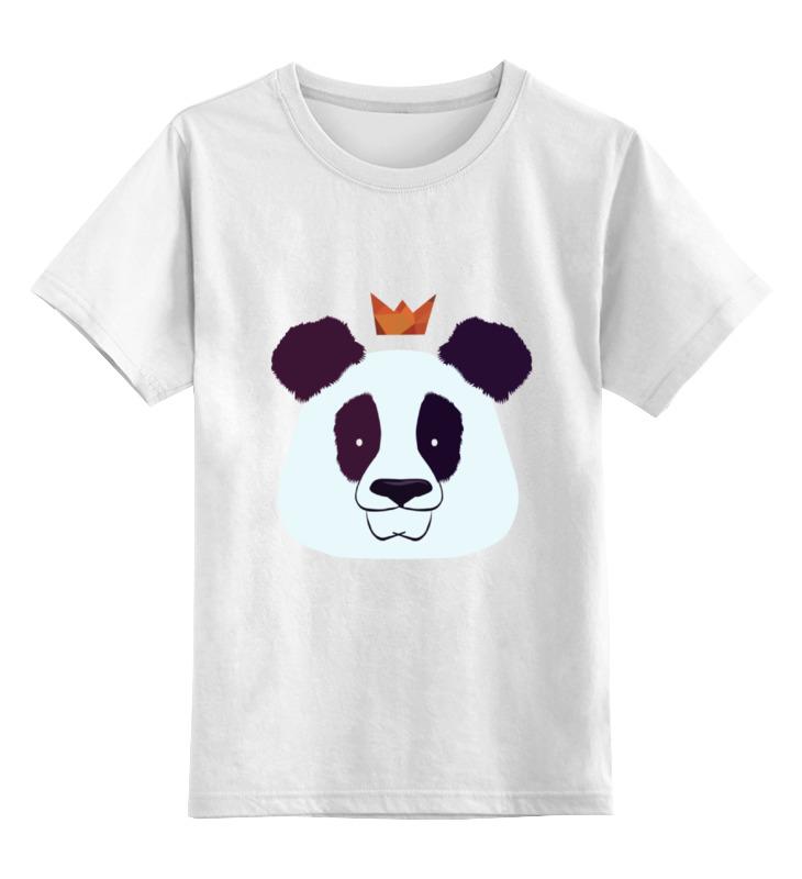Printio Детская футболка классическая унисекс Король панда