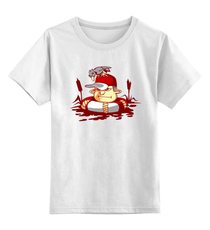 Printio Детская футболка классическая унисекс Купание в камышах