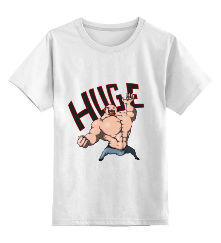 Printio Детская футболка классическая унисекс For huge arsb printio сумка for huge arsb
