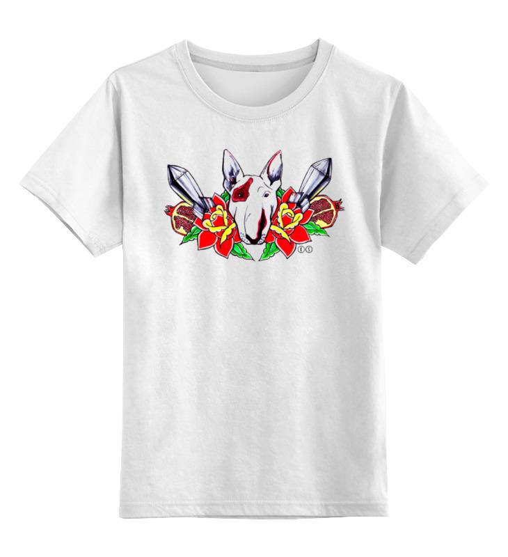 Printio Детская футболка классическая унисекс Петя буль футболка wearcraft premium printio петя буль т