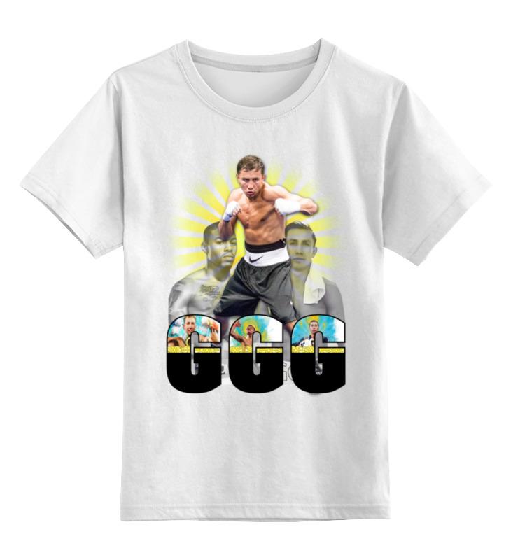 Printio Детская футболка классическая унисекс Геннадий головкин - ggg