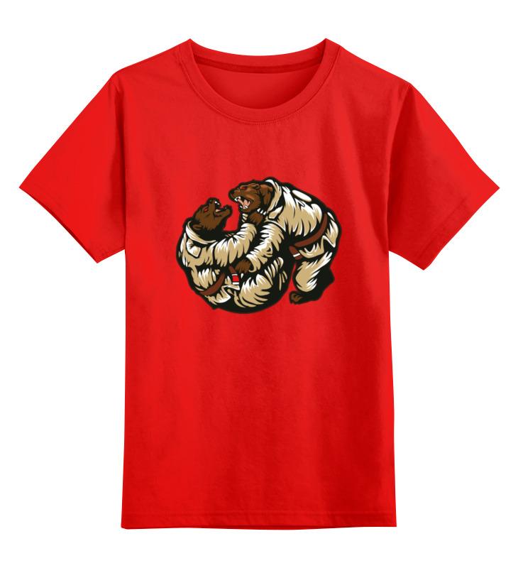 Printio Детская футболка классическая унисекс Спортивная борьба