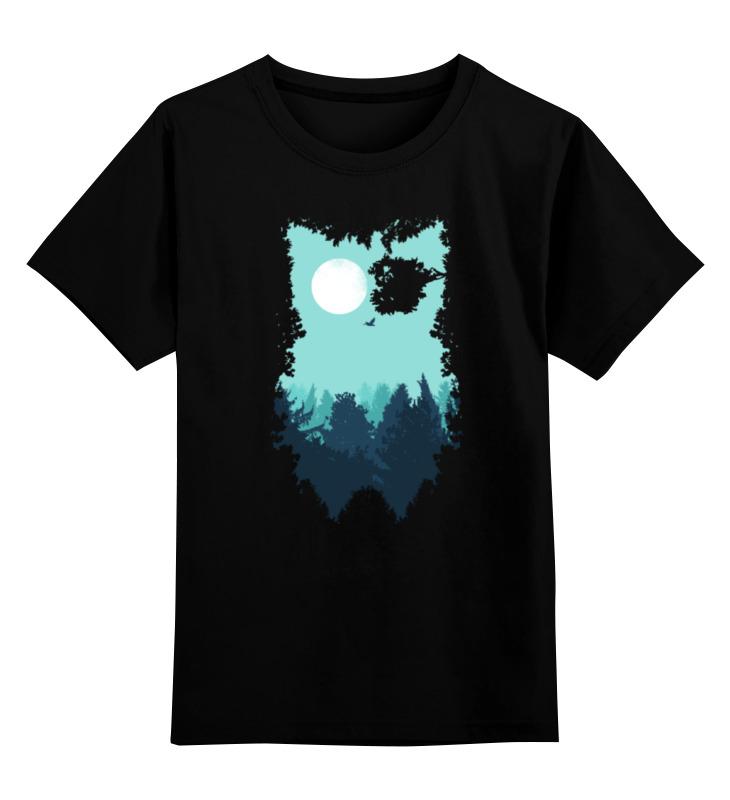 Фото - Printio Детская футболка классическая унисекс Сова (абстракция) printio детская футболка классическая унисекс волк абстракция