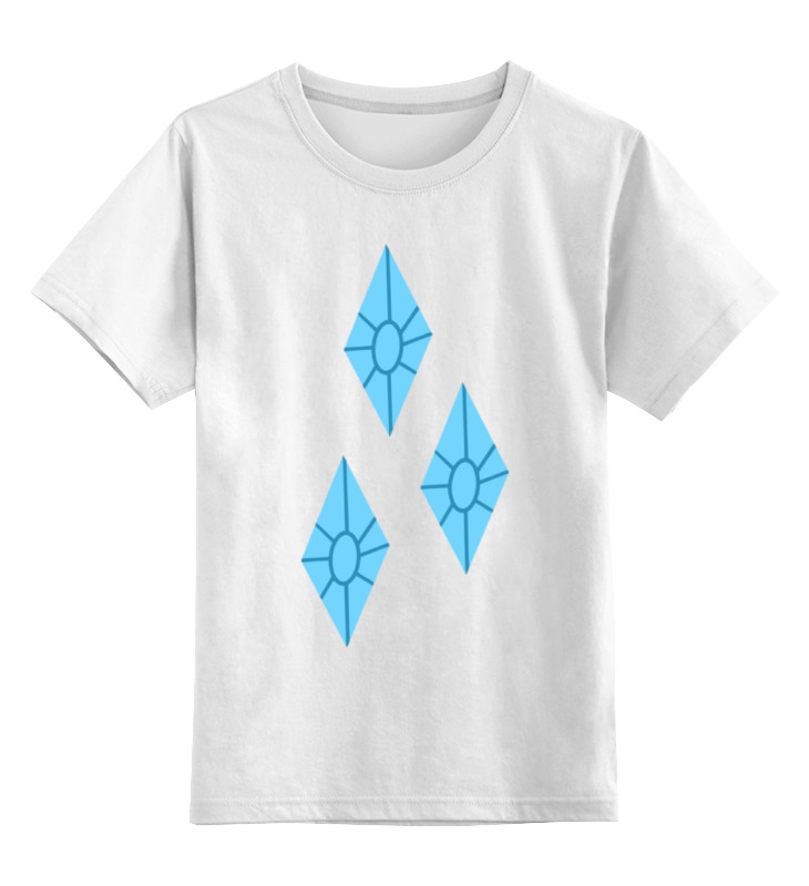 Printio Детская футболка классическая унисекс Алмазы (моя маленькая пони)