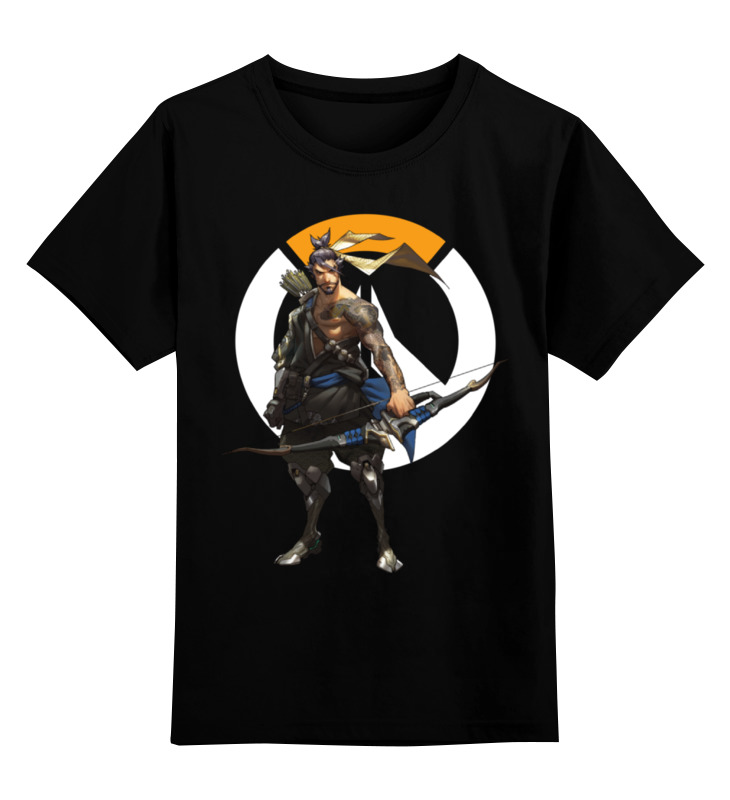 Printio Детская футболка классическая унисекс Overwatch hanzo / овервотч хандзо printio футболка wearcraft premium overwatch hanzo овервотч хандзо