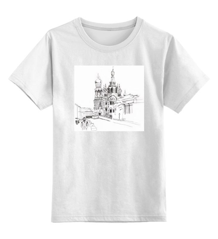 Printio Детская футболка классическая унисекс Спас на крови, спб