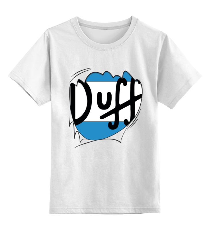 Printio Детская футболка классическая унисекс Пиво дафф (duff beer)