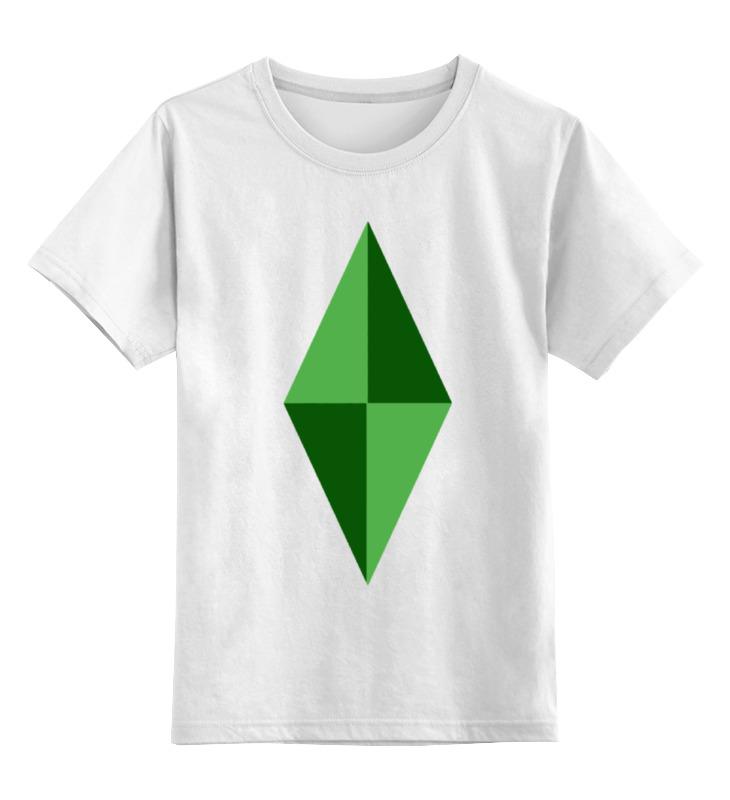 Printio Детская футболка классическая унисекс Кристал (симс)