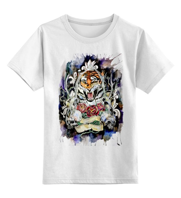 Printio Детская футболка классическая унисекс тигр old school сумка printio тигр old school