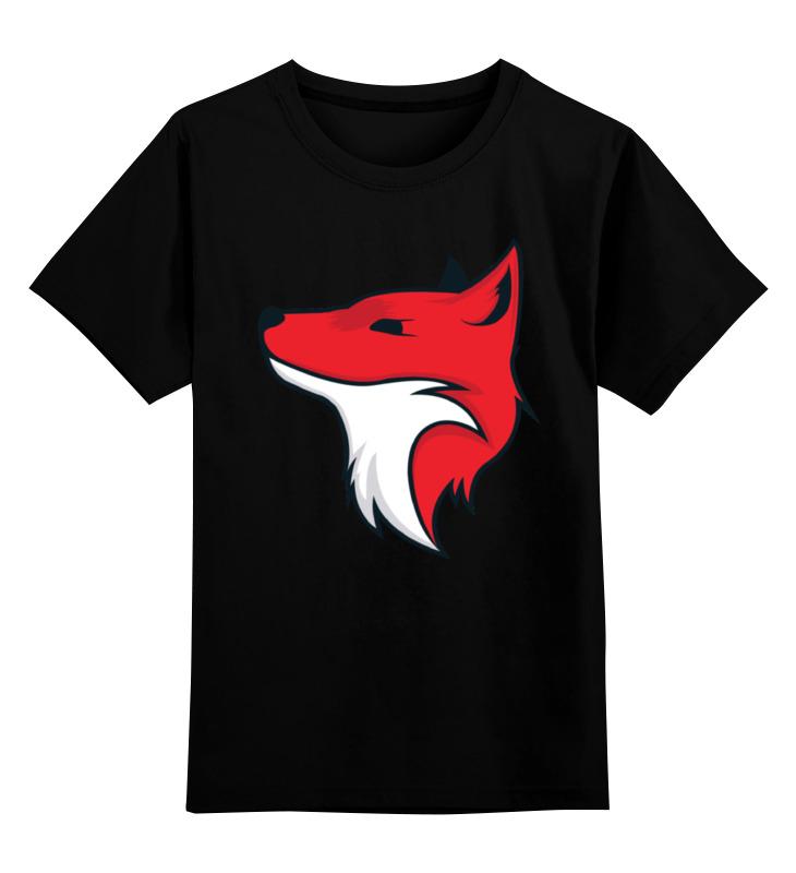 Printio Детская футболка классическая унисекс Fox / лиса printio детская футболка классическая унисекс этно лиса