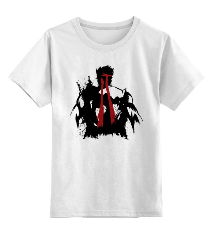 детская футболка классическая унисекс printio джентльмен боец Printio Детская футболка классическая унисекс Ryu (уличный боец)