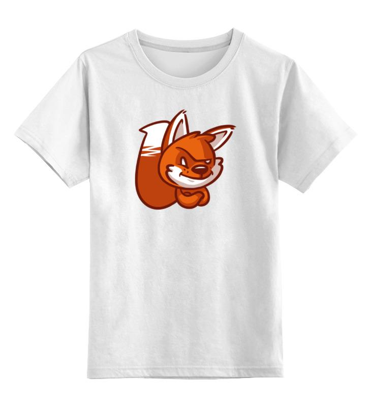Printio Детская футболка классическая унисекс Лиса (fox) printio детская футболка классическая унисекс этно лиса