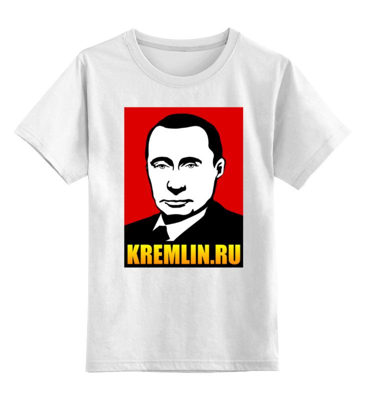 Printio Детская футболка классическая унисекс Путин